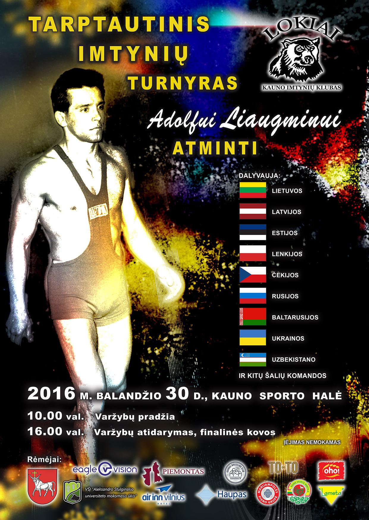 Kaunas kviečia į tradicinį imtynių turnyrą