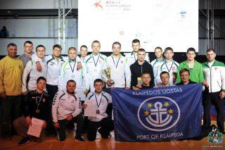 Šiaurės šalių imtynių čempionate – trys aukso medaliai