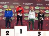Imtynininkas Mantas Knystautas – Europos jaunimo čempionato prizininkas! (video; trenerių komentarai)
