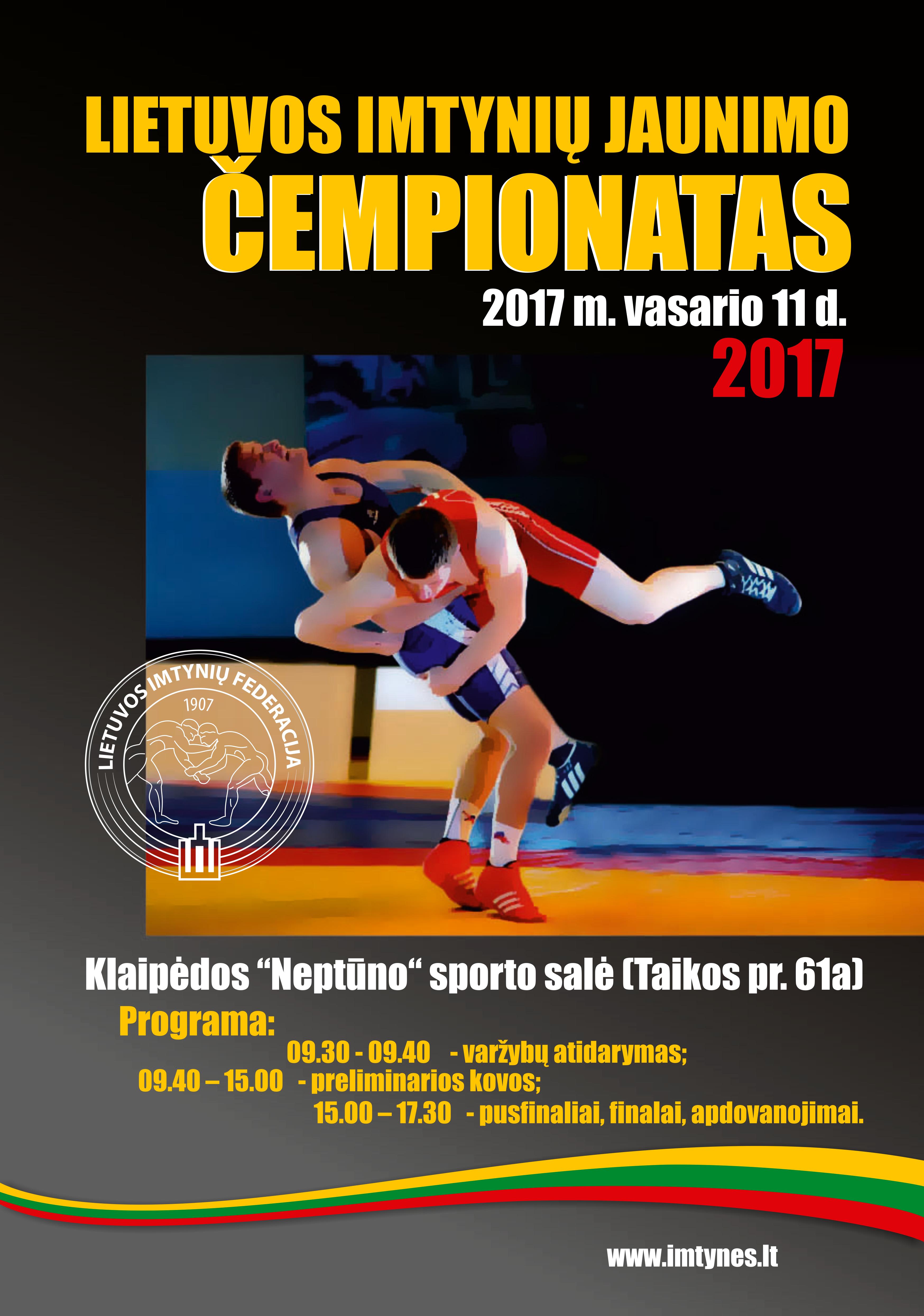 2017 m. LIETUVOS IMTYNIŲ JAUNIMO ČEMPIONATAS