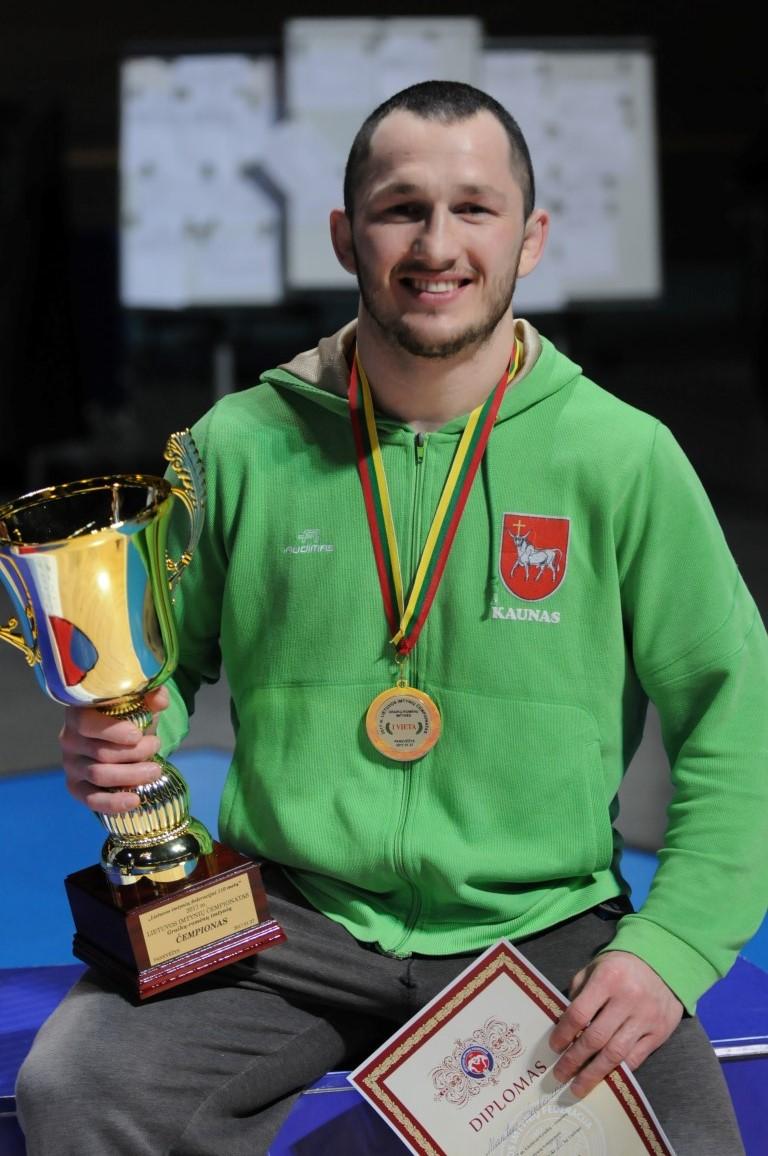 Imtynininkui Mantui Kazimierui Sinkevičiui – kurčiųjų olimpinių žaidynių bronza!