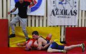 Turnyre Troškūnuose – jaunųjų imtynininkų kovos (nuotraukos)