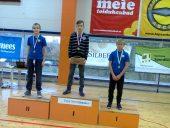 Trys joniškiečiai Estijoje iškovojo imtynių turnyro aukso medalius