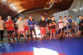 Panevėžyje – elitinių imtynininkų treniruotės (4 fotogalerijos)
