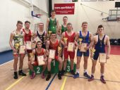 Pagėgiuose paaiškėjo šalies laisvųjų imtynių jaunimo čempionato nugalėtojai