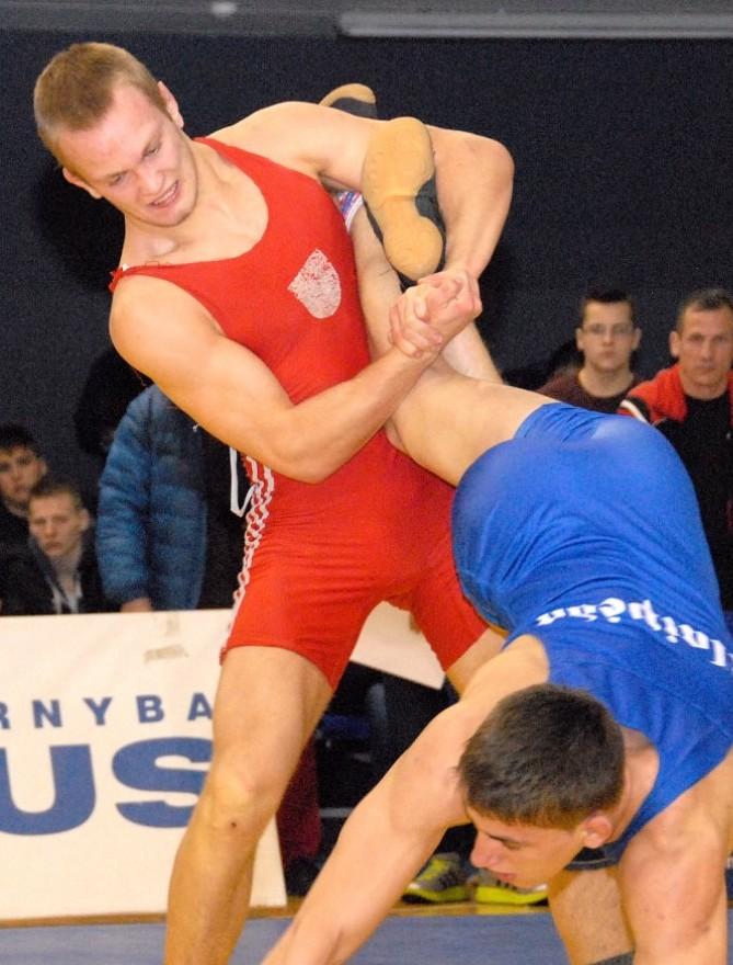 Andrius Mažeika – tarptautinio imtynių turnyro Estijoje nugalėtojas (pusfinalio vaizdo įrašas)