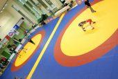 """Kelmės jaunieji """"laisvūnai"""" diktavo madas šalies vaikų imtynių čempionate"""