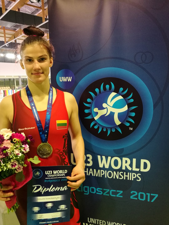 Ant bangos: kovoje dėl pasaulio bronzos Danutė Domikaitytė palaužė Azijos vicečempionę iš Indijos!