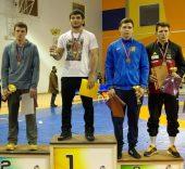 Du raseiniškiai – tarptautinio imtynių turnyro Latvijoje prizininkai