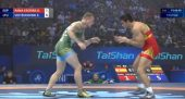 Pasaulio imtynių čempionate po aštuonerių metų pertraukos startavęs Edgaras Voitechovskis liko 18-as (video)