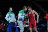 Europos jaunimo imtynių čempionate D.Parechelašvilis užėmė aštuntą vietą (dvikovų vaizdo įrašai)