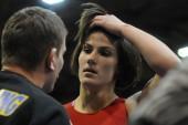 Imtynininkė D.Domikaitytė pasirodymą Europos jaunimo čempionate baigė po pirmos kovos (dvikovos video)