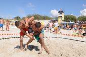 Smiltynėje – imtynininkų kovos (3  nuotraukų galerijos, video)