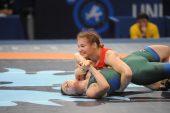 Pasaulio imtynių čempionate G.Blekaitytė užėmė 10 vietą (dvikovos video ir nuotraukos)