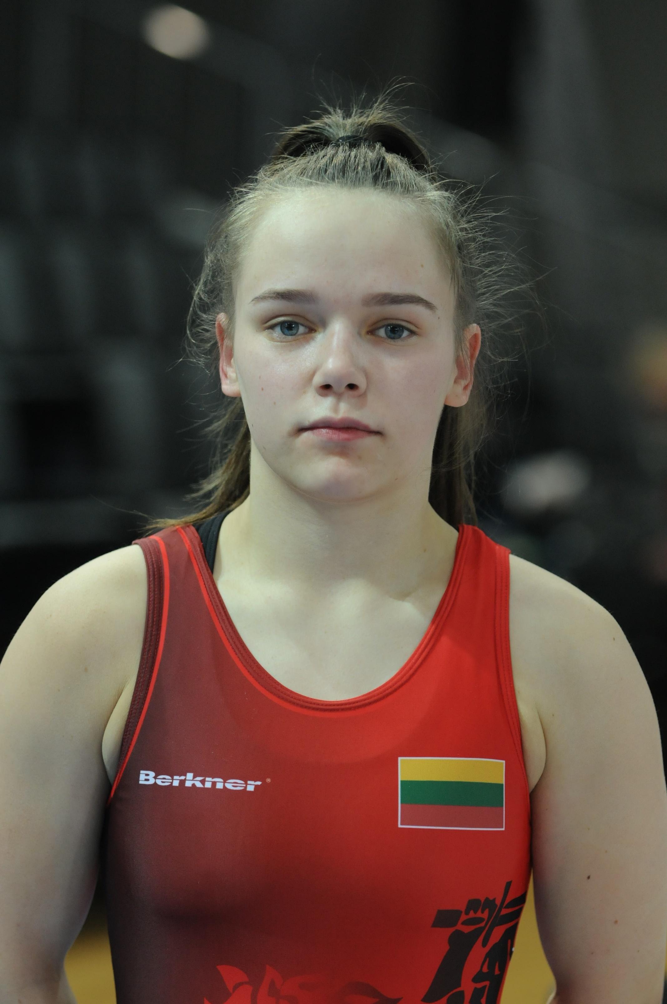 Europos moterų jaunių imtynių čempionato starte – G.Dilytės nesėkmė