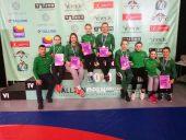 """""""Tallinn Open 2018"""" moterų imtynių turnyre lietuvaitės iškovojo visų spalvų medalius"""