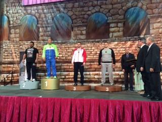 M.Mizgaičio rankose – imtynių Grand Prix turnyro bronza