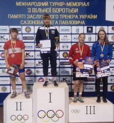 K.Zaicevaitė – tarptautinio imtynių turnyro Ukrainoje nugalėtoja