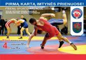 Prienuose debiutuos šalies imtynių jaunimo čempionatas
