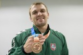 Imtynininkas L.Adomaitis pasaulio kariškių sporto žaidynėse iškovojo bronzos medalį