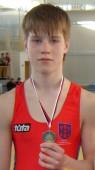 Laurynas Damidavičius iškovojo Europos jaunių imtynių čempionato bronzos medalį!