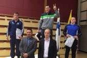 Pirmąjame metų starte – įspūdinga imtynininko M. Knystauto pergalė; K.Šleivai ir P.Galkinui – bronzos apdovanojimai