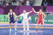 Lietuvos graikų-romėnų imtynininkai liko be medalių Europos žaidynėse Baku