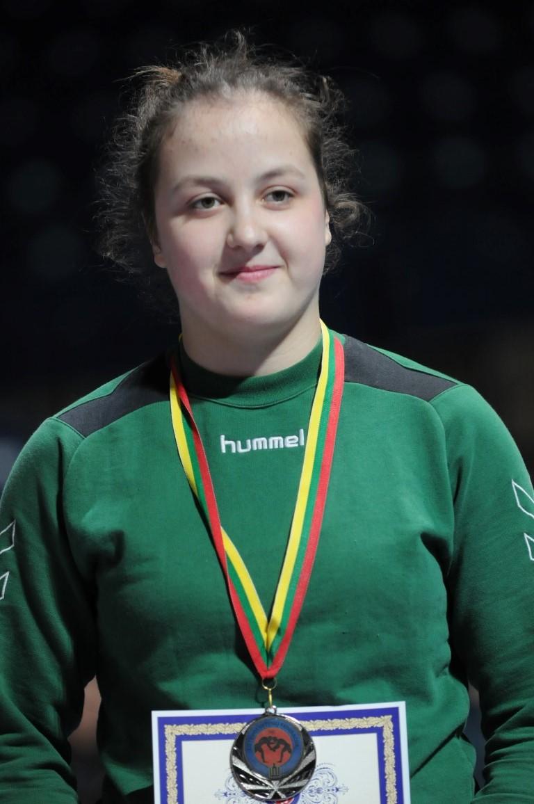 Moterų imtynių turnyre Anykščiuose Europos čempionė rodė meistriškumo pamokas