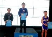 Rokas Čepauskas – didžiausio Europoje vaikų imtynių turnyro nugalėtojas