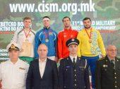 Pasaulio kariškių čempionate Lietuvos imtynininkai pelnė tris medalius