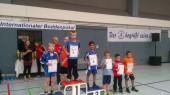 Anykščių krašto imtynininkų naujo sezono laimikis – penki aukso medaliai iškovoti Vokietijoje