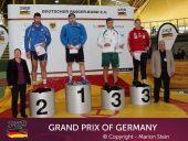 """V.Laurinaitis ir M.Knystautas imtynių Grand Prix turnyre Vokietijoje iškovojo """"bronzą"""""""