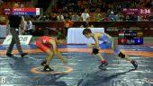 Europos moksleivių imtynių čempionate A.Cvetkovas užėmė penktą vietą