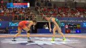 Pasaulio čempionate Danutė Domikaitytė pralaimėjo kanadietei