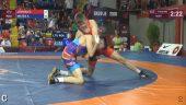 """Europos jaunių imtynių čempionate """"laisvūnai"""" toli nuo pjedestalo (dvikovų video)"""