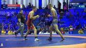 Pasaulio jaunimo čempionate imtynininkas G.Kulevičius  nusileido lenkui (dvikovos vaizdo įrašas)