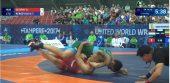 """Pasaulio jaunimo imtynių čempionate """"klasikai"""" nesublizgėjo (dvikovų video)"""