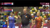 K.Zaicevaitė pralaimėjo būsimai finalininkei. Kovos dėl bronzos