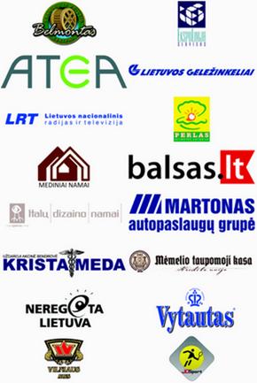 Rėmėjai